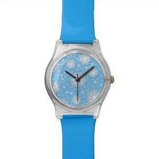 Floating Snowflakes Watch