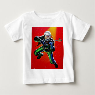 FLOATING SPACEMAN BABY T-Shirt