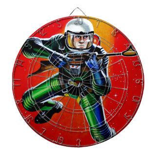 FLOATING SPACEMAN DARTBOARDS
