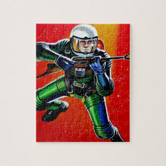 FLOATING SPACEMAN JIGSAW PUZZLE