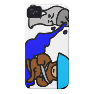 Floating Spray Paint Guy iPhone 4 Cases