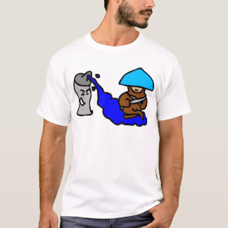 Floating Spray Paint Guy T-Shirt