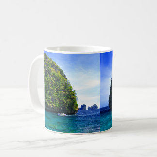 Floating Tropical Islands Coffee Mug