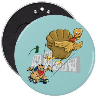 Floating Turkey Dinner Pin