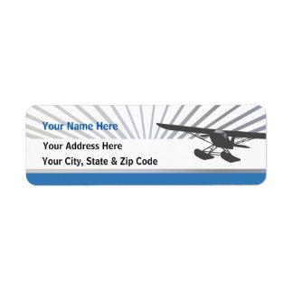 Floatplane Return Address Label