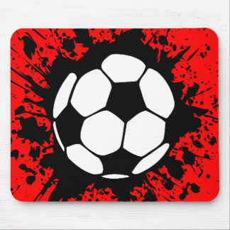 floc du football tapis de souris