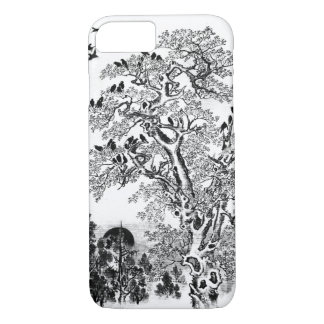 Flock of Crows at Dawn iPhone 7 Case