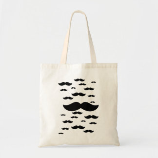 Flock of Mustaches Bag