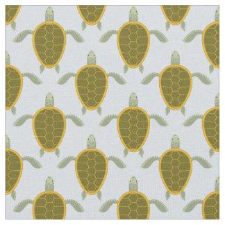 Flock Of Sea Turtles Pattern Fabric