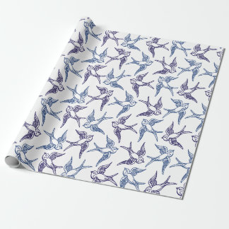Flock of Sketched Birds