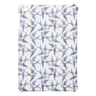 Flock of Sketched Birds Case For The iPad Mini
