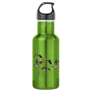 Flock of wild geese 532 ml water bottle