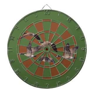 Flock of wild geese dartboard