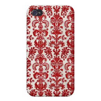 Flocked Wallpaper IPhone Case Cases For iPhone 4