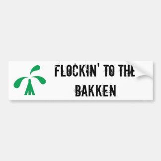 Flockin Bumper Sticker