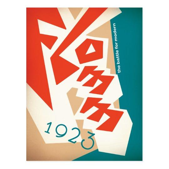 FLOMM 1923 POSTCARD