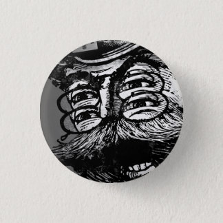 FLomm Villains: Screaming ThWINGh! 1 Inch Round Button