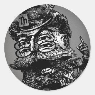 FLomm Villains: The ThWINGh! Round Sticker
