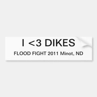 Flood  Fight 2011 Bumper Sticker