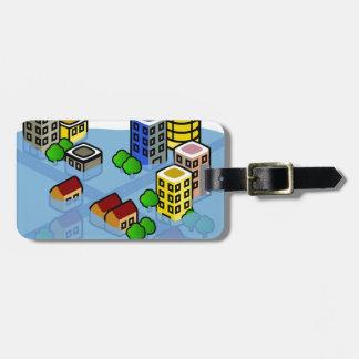 Flooded City Luggage Tag