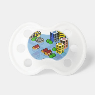Flooded City Pacifier