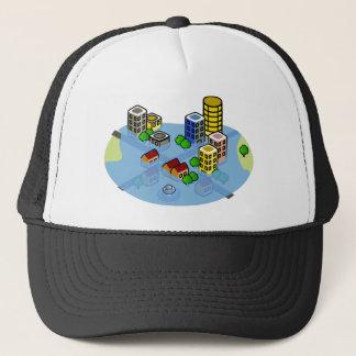 Flooded City Trucker Hat