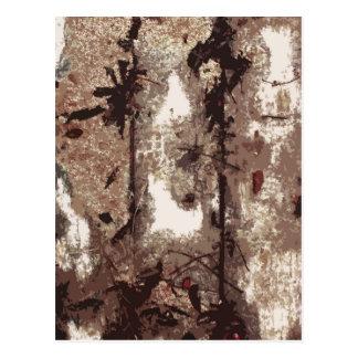 """Floor Board Mystery"" Postcard"