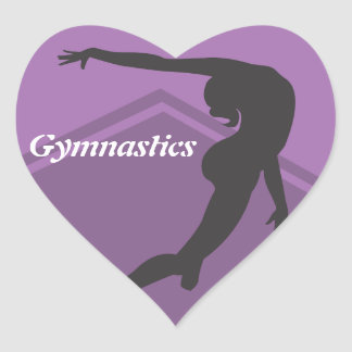 Floor Exercise Gymnastics Sticker