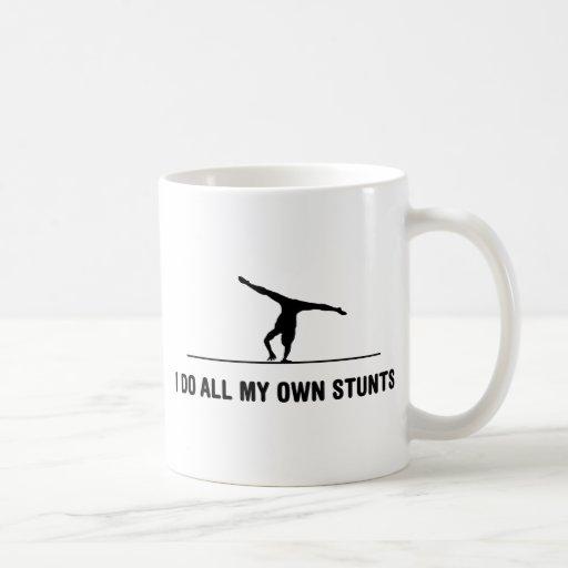 Floor Exercise Coffee Mug