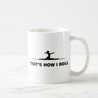 Floor Exercise Basic White Mug
