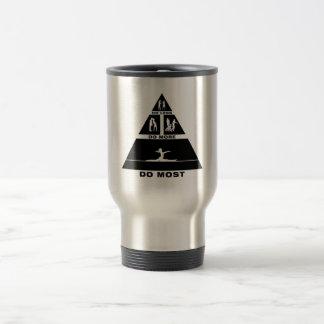 Floor Exercise Stainless Steel Travel Mug