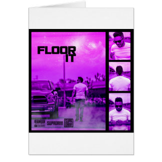Floor It Cover Card