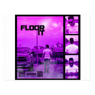 Floor It Cover Postcard