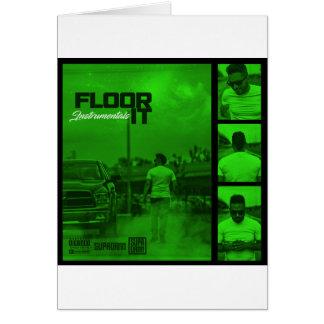 Floor It Instrumentals Cover Card
