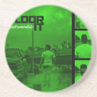 Floor It Instrumentals Cover Coaster