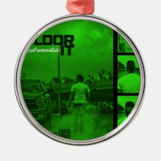 Floor It Instrumentals Cover Metal Ornament