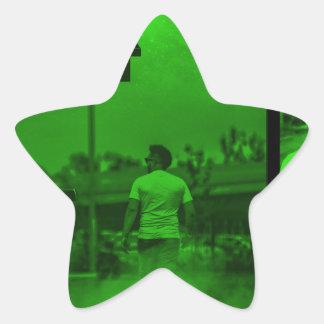 Floor It Instrumentals Cover Star Sticker