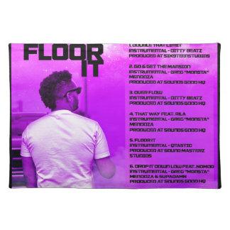 Floor It Reverse Placemat