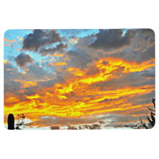 Floor Mat - December Sonoran Sky