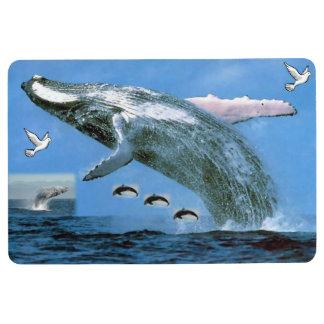 Floor Mat Whale