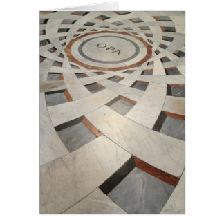 Floor Pattern Card