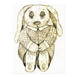 Flop Eared Bunny Postcard