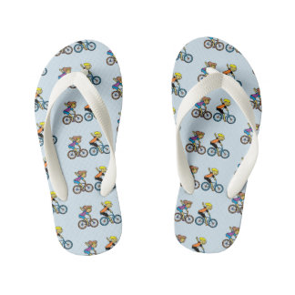 Flopping Fish Designs ™ Kid's Flip Flops