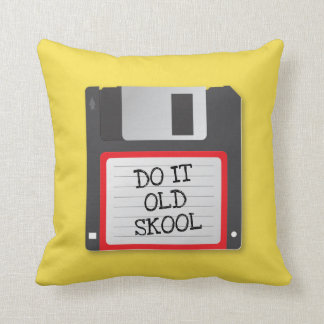 Floppy Computer Disk 1.4mb Old School Pillow