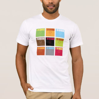 Floppy Disk Colors Shirt