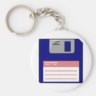 Floppy Disk Keychain
