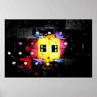 Floppy Mosaic Poster