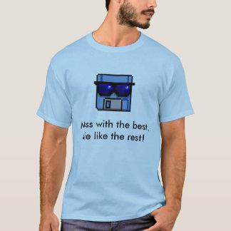 Floppy vintage hacker T-shirt