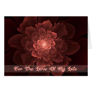 Flor de Amor Love of My Life Card