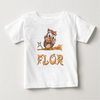 Flor Owl Baby T-Shirt